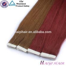 Extension de cheveux de deux couleurs vente chaude au Nigeria