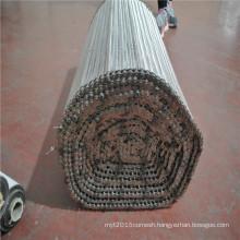 Stainless steel wire mesh balanced screw conveyor mesh belt