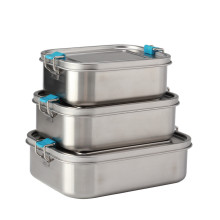 Edelstahl Bento Box Lunchbox für Erwachsene