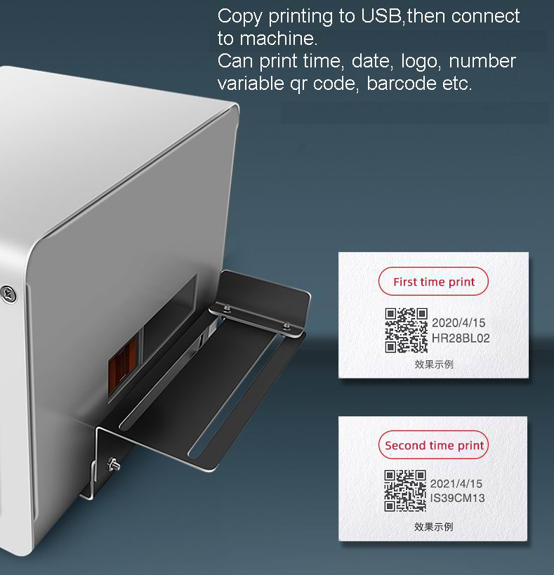 desktop qr inkjet printer