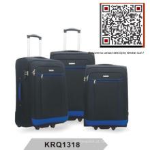 Poliéster 2wheels Soft Inside Trolley Luggage (KRQ1318)