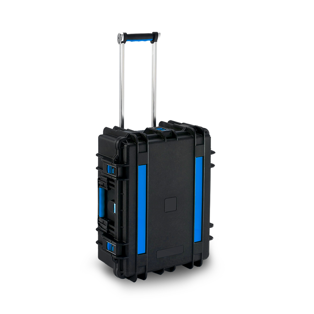 Tablets charging trolley case