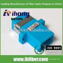 SC / UPC одномодовое оптическое перегрузочное устройство с фиксированным значением аттенюатора 10 дБ