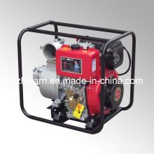 Juego de bomba de agua diesel de 4 pulgadas de color rojo (DP40E)