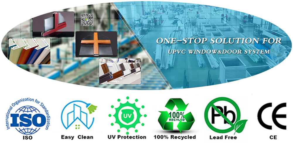 Profil UPVC Windows Manufacturer