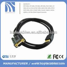 Câble universel VGA 15PIN AVEC CABLE MALE 6FT