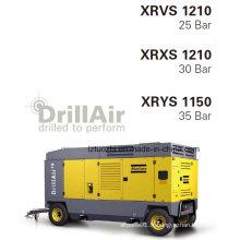 1140cfm 35bar Atlas Copco Compresseur à air à vis portable pour l'exploitation minière