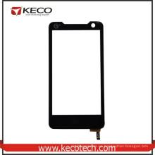 4.5 pulgadas de alta celulares de pantalla táctil del panel de cristal de piezas de repuesto para Lenovo A798t Negro