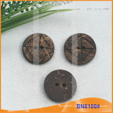 Natural Coconut Buttons for Garment BN8100