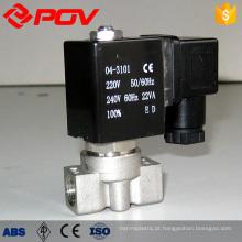 válvula solenóide de atuação direta de conexão de rosca de baixo preço