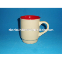 Ceramic glazed special shape mug