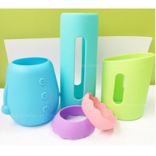 Insulated Protective Glass Bottle Silicone Mugs Sleeve
