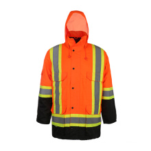 Класс 3 CSA Z96-09 Светоотражающая зимняя зимняя куртка