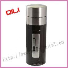 2012 nuevo tipo tazas vacío negro de acero inoxidable