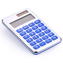 Dual Power 8 Digit Custom Mini Pocket Calculator
