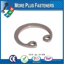 Made in Taiwan Internal Circlip Bore Size Brass Internal Circlip Stainless Steel Circlip interne