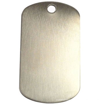 Wholesales Metal Blank Dog Tag for Engrave