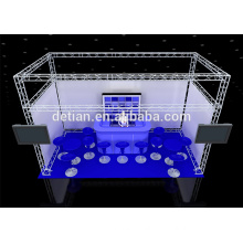 Mini aluminium truss light truss system roof truss trade show display booth system Mini aluminium truss light truss system roof truss trade show display booth system