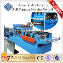 2016 Melhor preço Steel CZ Interchangable Purlin Roll Formando Máquina China Fornecedor