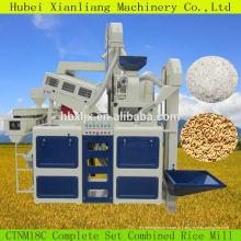 máquina de limpeza de arroz e máquina de destoner com moinhos de arroz parboilizado