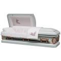 18 Ga Primrose acier cercueil pour le marché USA