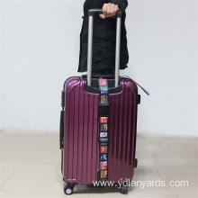 Wholesale Promotional Custom Made Polyester Luggage Strap