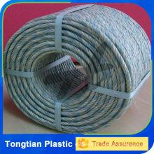 Twisted pêche corde ficelle PP / PE / corde en nylon
