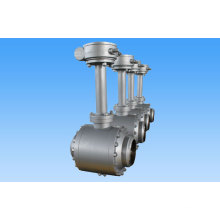 Шариковый клапан с шестерней Глиста для газовой трубы