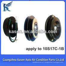 Auto compressor acessório 10s17c 12v 1B automóvel elétrico magnético embreagem