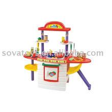907014090-Kitchen set cooking machine toys