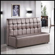 Ресторан роскошный PU кожаный стенд раскладной диван (СП-KS100)