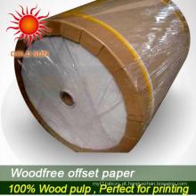 Papel de impressão offset de papel bond