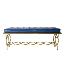 European-style retro living room bench