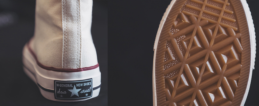 Details of Canvas Shoes