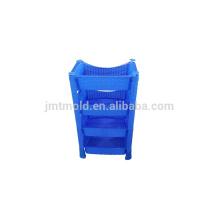 Sofisticado y personalizado Molde de cajón de inyección de archivo de cesta