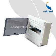 Saipwell 12 Ways Clear Распределительная коробка IP66 288 * 220 * 80 Электрическая 3-фазная распределительная коробка