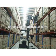 Customized warehouse double deep metal storage rack