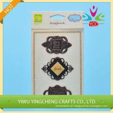 Palavras de adesivo metal estilo retrô em forma de 2016 fio decoração interior alibaba co uk China fornecedor