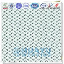 YD-1600, tissu en maille tricoté en polies blanc pour canapé