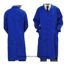 8 Farben-Förderung-Qualitäts-Arbeitskleidung-langer Mantel
