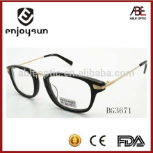 Marco clásico de los anteojos del acetato unisex clásico con CE & FDA