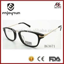 Классический стиль унисекс ацетат оптические очки кадр с CE и FDA