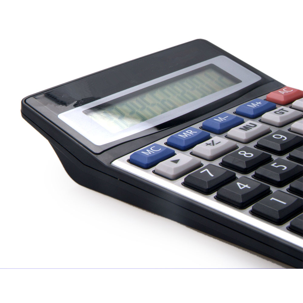 8 Digit Desktop Big LCD Screen Calculator