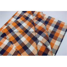 Cheap Price T/C Fashion Checks Wholesale Men′s Short Fabric