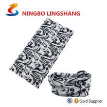 Ningbo lingshang bandana headwear multifunctional mágico colorido relativo à promoção feito sob encomenda do crânio