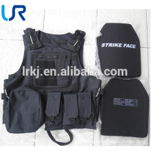 Lightweight NIJ III/IIIA/IV multi-functional military tactical bullet proof vest