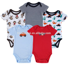 Großhandel Kinder Onesie Infant Stripe Kleinkind Baumwolle Strampler