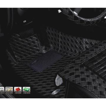 Coche esteras Acm101c XPE imitación cuero alfombra para Volvo