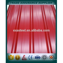 Farbbeschichtetes Dachblech / PPGL Blatt