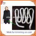 Venta al por mayor Mink Fur Tail Mink Fur Trim For Coat